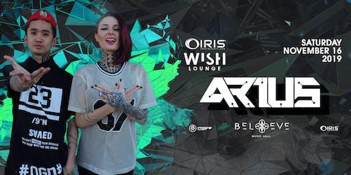 Arius | Wish Lounge IRIS ESP101 Learn to Believe | Sat Nov 16