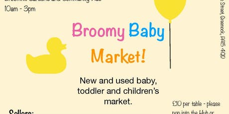 Broomy Baby Market tickets
