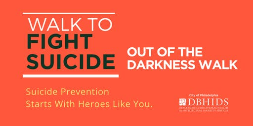 American Foundation for Suicide Prevention's Out of the Darkness Walk