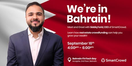 Bahrain Meet and Greet with SmartCrowd tickets