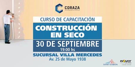 Coraza Capacitación construcción en seco entradas