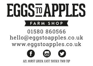 Sarah Hall Pop Up Restaurant at Eggs To Apples Farm Shop tickets