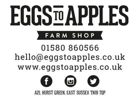 Sarah Hall Pop Up Restaurant at Eggs To Apples Farm Shop