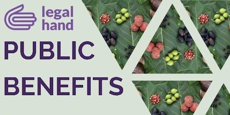 Public Benefits 102 tickets