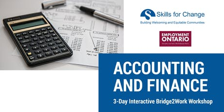 Accounting and Finance Interactive Information Session (3 Days) tickets