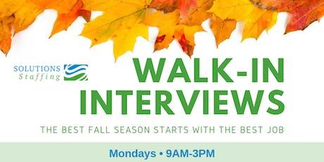 Walk-In Interviews @ Columbus, OH tickets