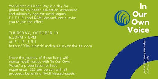 In Our Own Voice/A Fundraiser for the National Alliance on Mental Illness