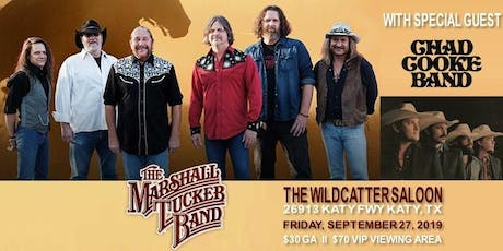 Marshall Tucker Band w/ Chad Cooke Band @ Wildcatter Saloon tickets