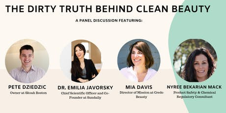 The Dirty Truth Behind Clean Beauty tickets