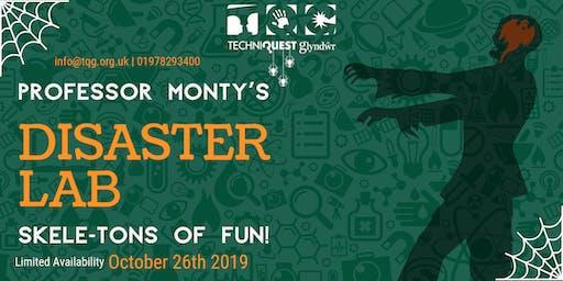 Techniquest Glyndwr - Professor Monty's Disaster Lab!