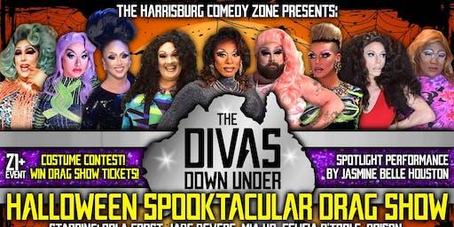 "The Divas Down Under ""Halloween Spooktacular"" Drag Show! 21+"