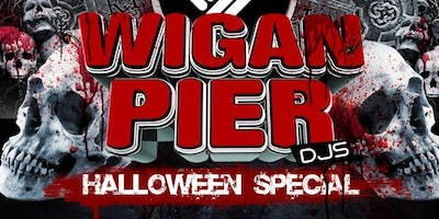 WIGAN PIER HALLOWEEN SPECIAL - LIVE IN WREXHAM