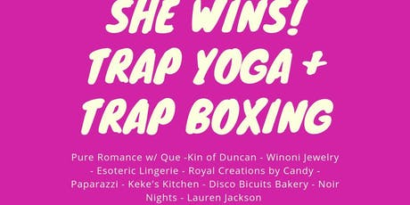 Trap Yoga and Boxing tickets