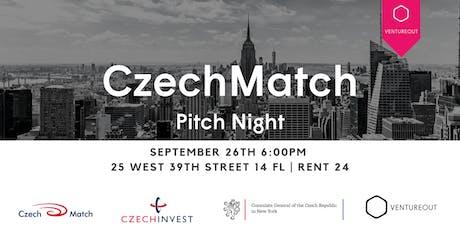 The Czech Match Showcase: A VentureOut Czech Pitch Night tickets
