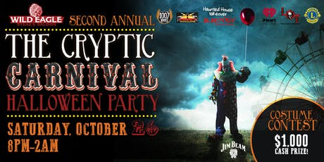 The Cryptic Carnival II at Wild Eagle Steak & Saloon tickets