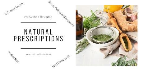 Natural Prescriptions - Full Day tickets