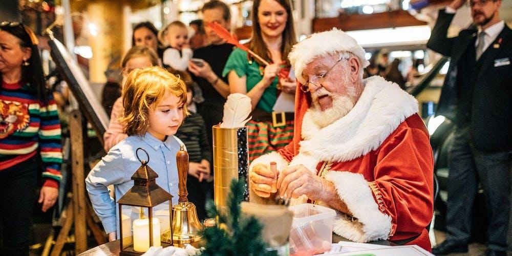 Christmas Switch.Darcys Princes Square Light Switch On Festive Activity