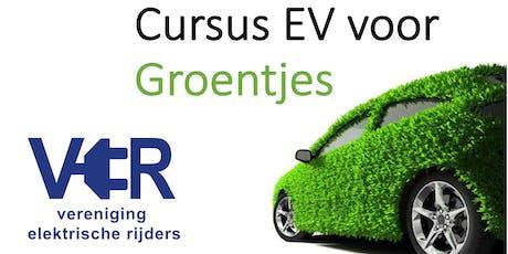 Cursus Elektrisch Rijden voor Groentjes (Zuid NL) tickets