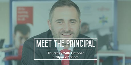 Meet the Principal Event tickets