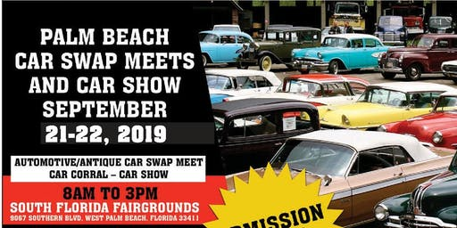 Palm Beach Car Swap and Car Show Meets Returns September 21-22