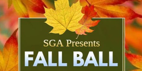 SGA presents Fall Ball tickets