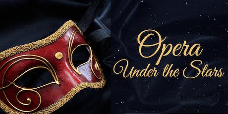 Opera Under the Stars tickets