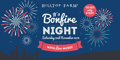 Bonfire Night & Fireworks Display at Hilltop Farm