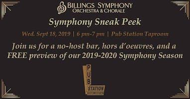 Billings Symphony Orchestra & Chorale Sneak Peek