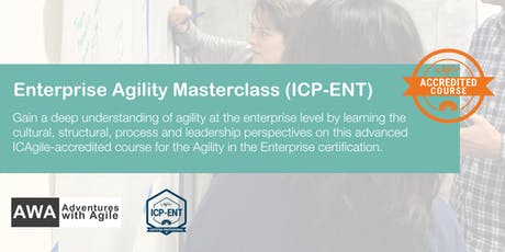 Enterprise Agility Masterclass  (ICP-ENT) | London - January 2020 tickets