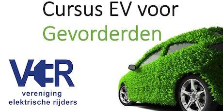 Cursus Elektrisch Rijden rijden voor Gevorderden (Zuid NL) tickets