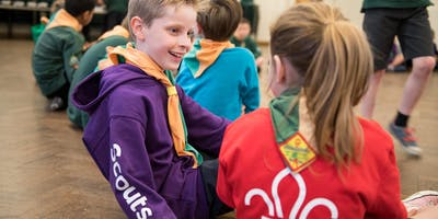 Shropshire Scouts; Adult Training; Module: 16 / 17 / 19