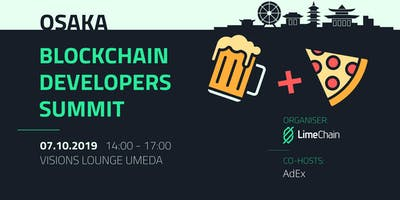 The Blockchain Developers Summit - Osaka Edition