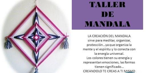 TALLER DE MANDALA
