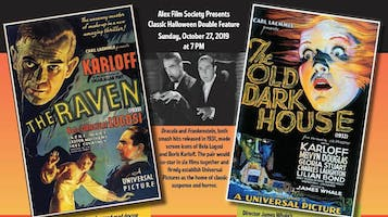 """Halloween Double Feature: """"The Raven"""" & """"The Old Dark House"""""""