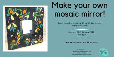 Mosaic Mirror Workshop