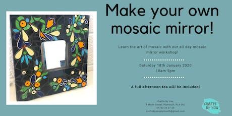 Mosaic Mirror Workshop tickets