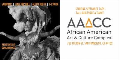 Alotta Boutté Stage Presence: Fall Burlesque & Dance Class