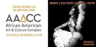 Tease Tester! With RedBone: Fall Burlesque & Dance Class