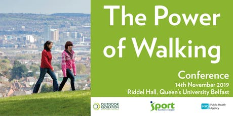 The Power of Walking Conference tickets