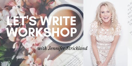 Let's Write One-Day Workshop tickets
