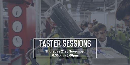 UTC Warrington - November Taster Sessions