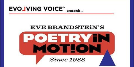 Eve Brandstein's POETRY IN MOTION tickets