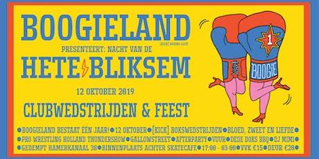 Boogieland's Nacht van de Hete Bliksem -  Clubwedstrijden en feest! tickets