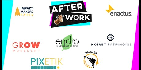 Afterwork Entrepreneuriat Social et Solidaire - Impakt Makers X Enactus tickets