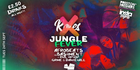 NO RULES - Freshers Jungle Fever tickets