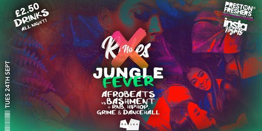 NO RULES - Freshers Jungle Fever