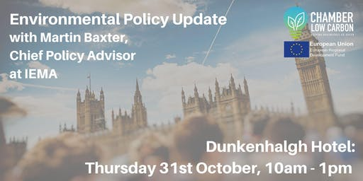 Environmental Policy Update
