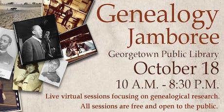 Genealogy Jamboree tickets