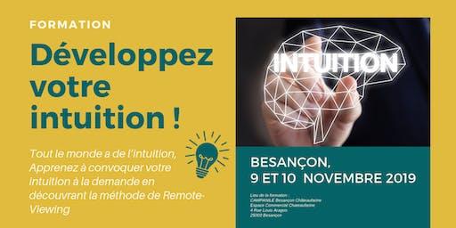 Formation à l'intuition à Besançon
