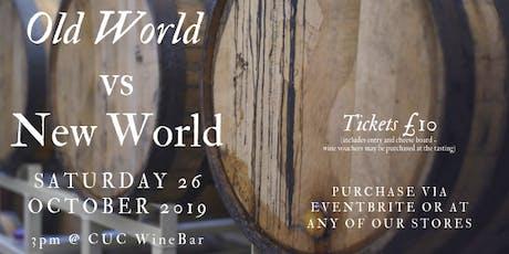 Old World vs New World - Wine Fair tickets